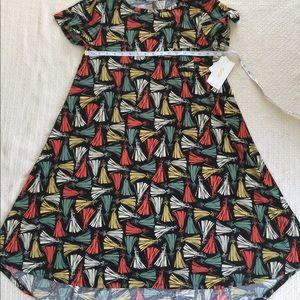 NWT LuLaRoe Disney Aurora Carly Dress Sz S